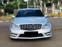 Jual Mercedes-Benz C Class: MERCY C250 ADVANGARD SILVER 2012