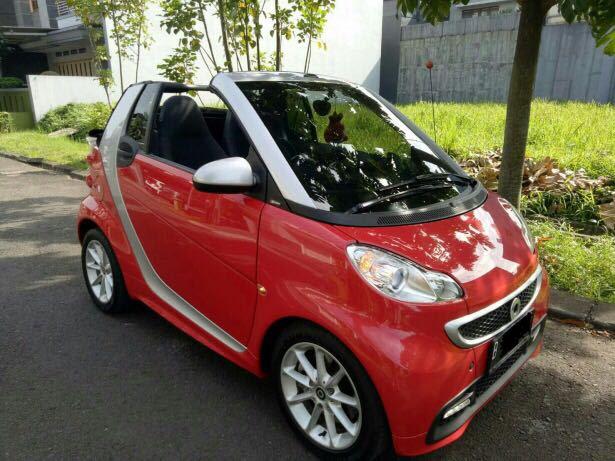 Mercedes Smart Car >> Smart Fortwo Cabrio 1 4 At 2013 Mobilbekas Com