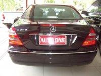 Mercedes-Benz E Class: Mercedes Benz E260 Elegance (IMGP2572.JPG)