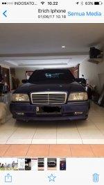 C Class: Jual: Mercedes-Benz C200 W202. Matic th 1996 (IMG_6131.PNG)