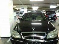 Mercedes-Benz S Class: Mercedes Benz S 500 L 2004 Hitam (IMG_0457.JPG)