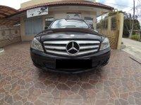 Mercedes-Benz C Class: Dijual Mobil Mercy C200 CGI Facelift Avantgarde 2011 HITAM