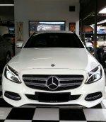 Jual C Class: Mercedes-Benz C200 AMG Avantgarde 2015/14 Putih