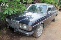 Jual Mercedes-Benz: Mercy tiger W123 biru M123 th 1979 bahan hidup jalan