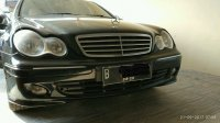 Mercedes-Benz C Class: BU Jual Mercy C240 2005 Sport Hitam Mulus - Bisa TT Yaris Jazz Avanza (IMG-20170921-WA0033.jpg)
