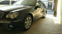 Mercedes-Benz C Class: BU Jual Mercy C240 2005 Sport Hitam Mulus - Bisa TT Yaris Jazz Avanza (IMG-20170921-WA0037.jpg)