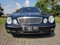 Mercedes-Benz: Dijual Mobil Bekas Mercedes Benz E260 (Tahun 2005)