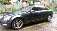 Mercedes-Benz C Class: Mercedes benz C200 grey tenorite on brown (0060E164-1B76-4408-977E-AFA6730E11B6.jpeg)