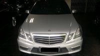 Jual Mercedes-Benz E Class: mercy E63 AMG V8 silver on Black eurocharged