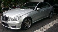 Mercedes-Benz E Class: mercy E63 AMG V8 silver on Black eurocharged (20171118_083841.jpg)