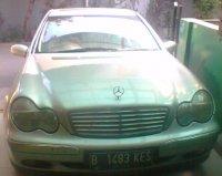 Jual Mercedes-Benz C Class: Mercy C240 thn 2005 silvermetalic