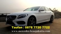Mercedes-Benz: Jual New Mercedes Benz C200 AMG Line 2018 Dp Ringan (new mercy c200 amg fl putih 2017.jpg)