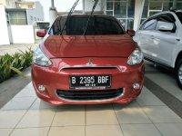 Jual Mitsubishi: Mirage GLS at 2012 Merah.  Hub. Dian