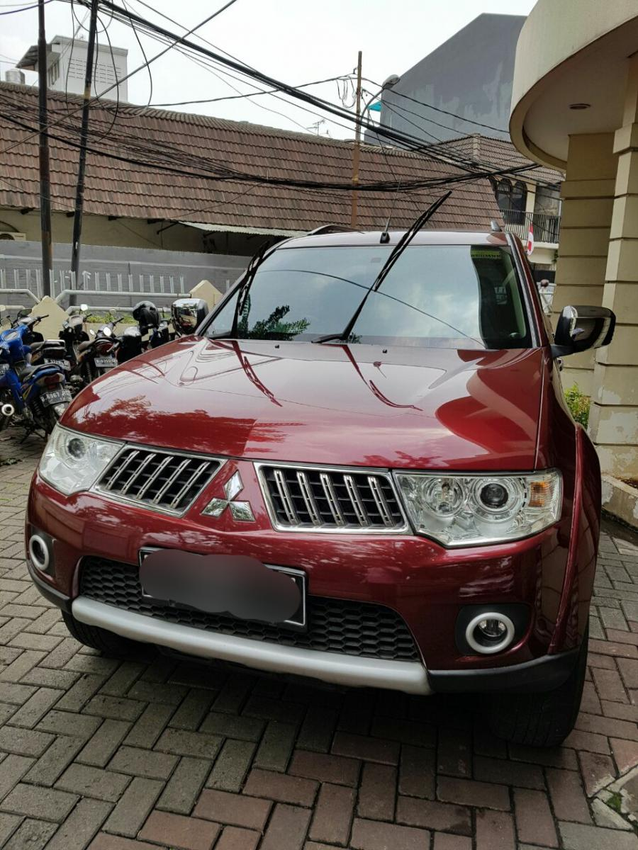 106 Gambar Mobil Pajero Warna Merah HD Terbaru