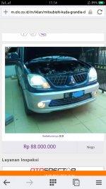 Dijual Mitsubishi Kuda Grandia Diesel 2005