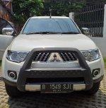 Jual Mitsubishi: Pajero Sport 2.5 D Exceed, 4x2 A/T 2012, Putih, Mulus, Nego