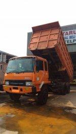 Jual Mitsubishi Fuso Dump Truck FN 527 6x4 Tahun 2012