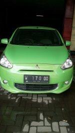Jual Mitsubishi: Mits. Mirage hijau tahun 2012 matik