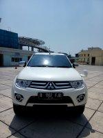 Jual Mitsubishi Pajero Sport: Mitsubitshi pajero dakar sport putih 2015 matic km 31 rban 08161129584