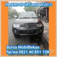Jual Mitsubishi: PAJERO SPORT exceed 2012#kredit bisa 5th