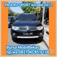 Jual Mitsubishi: PAJERO SPORT th2012.KRDT bs 6th