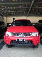 Jual Mitsubishi: Strada Triton 2010 MT 4x4 Merah Nego hub Ratna