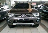 Jual harga mobil Mitsubishi Pajero sport 2014 exceed Brown