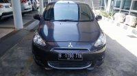 Jual Mitsubishi: Mirage GLS AT 2014 Grey Apik Mulus Mesin Kering
