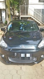 Mitsubishi Mirage Exceed Hitam-STNK 2015-Tgn 1-Km 31rb (A1.jpeg)