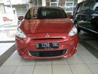 Jual Mitsubishi Mirage GLS AT 1.2cc tahun 2013 Merah