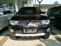 Jual Mitsubishi Pajero sport exceed 2.5 at 2012 Hitam met