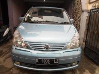 Jual Nissan Serena C24 Aqua Blue LowKM 3Baris Tahun 2004 Orsinil Siap Pakai