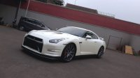 nissan GTR 3.8L coupe White On Black