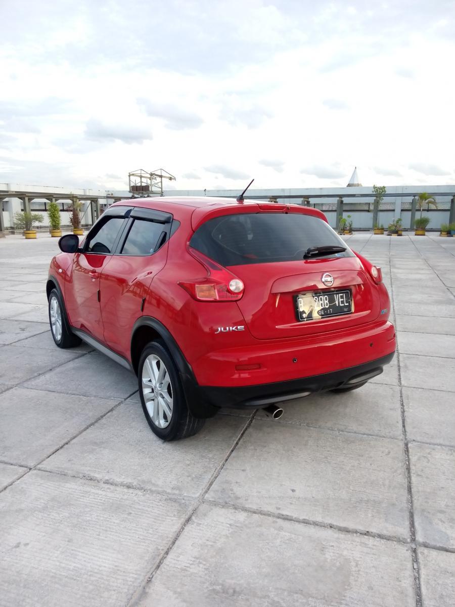 Nissan Juke Type Type RX Cc 15 Tahun 2012 Matic Warna MerahKm 41