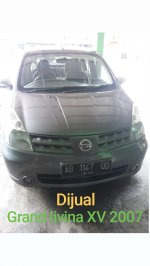 Nissan: Dijual Grand livina XV 2007 manual plat ab