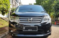 Jual NISSAN SERENA NEW MODEL FACELIFT TH 2015 Hitam Tgn 1 Istimewa