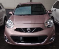 Jual NISSAN MARCH XS AUTOAMTIC PINK 2014 SPECIAL CONDITION, KM 34 RB.