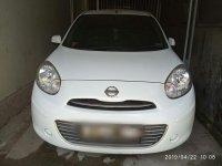 Dijual Cepat Nissan March 2011 XS Putih (Matic)