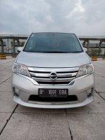 Jual Nissan serena 2.0 hws matic 2014 silver km 22 rban