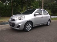 Jual Nissan march 2014 silver manual