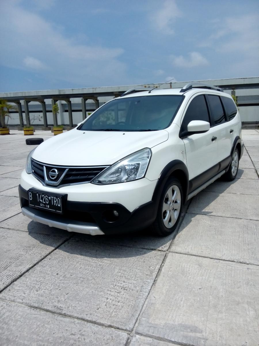 Nissan Grand Livina 15 X Gear Manual 2013 Km 20 Rban Putih