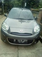 Jual Nissan March 2011 Manual Abu Abu Mulus Terawat