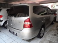 Jual nissan grand livina 2012 xv manual