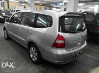Jual Nissan Grand livina Xv Automatic Tahun 2010 Silver met