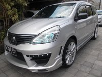 Jual Nissan Grand Livina XV XTronic CVT th 2013 asli Bali Full Variasi