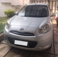 Jual Nissan March 2011 XS 1.2L Silver