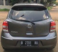 Jual Nissan March 2011; Abu-abu; Automatic; KM rendah; Pajak Panjang
