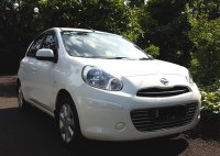 Jual NISSAN MARCH XS AT 2012/2013 Putih Tgn 1 Km 45 Rb