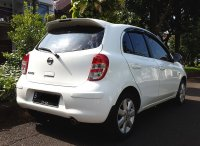 NISSAN MARCH XS AT 2012/2013 Putih Tgn 1 Km 45 Rb (Belakang Kanan.jpg)