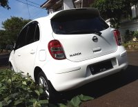 NISSAN MARCH XS AT 2012/2013 Putih Tgn 1 Km 45 Rb (Belakang Kiri.jpg)